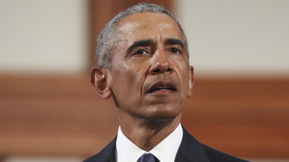 Barack Obama at an event