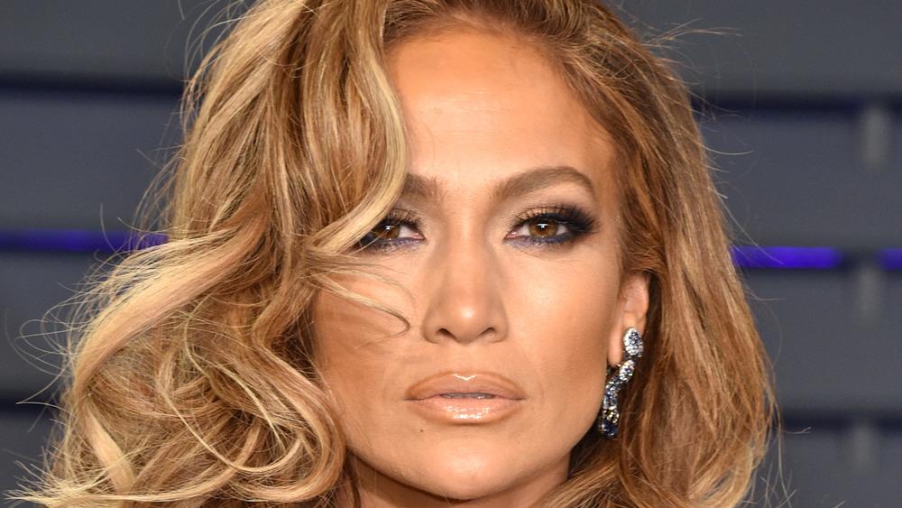 Jennifer Lopez at an event
