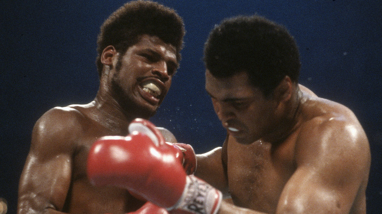 Leon Spinks boxing