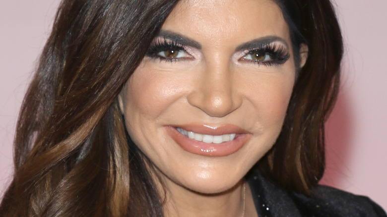 Teresa Giudice smiling and looking at camera