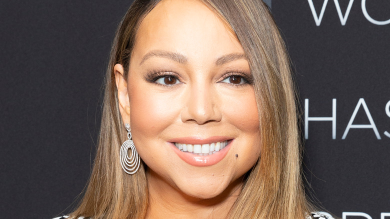 """Mariah Carey at the premiere of Netflix's """"A Fall from Grace"""""""