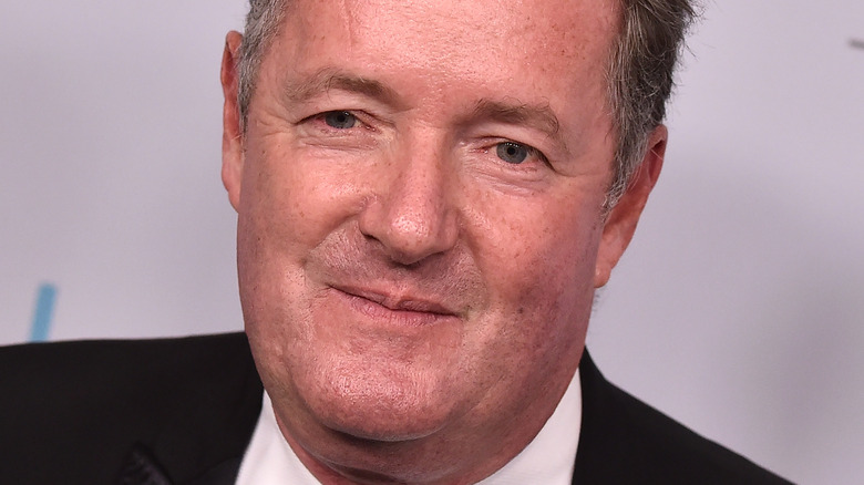 Piers Morgan posing