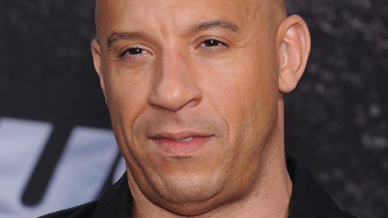 "Vin Diesel at the ""Furious 6"" premiere"