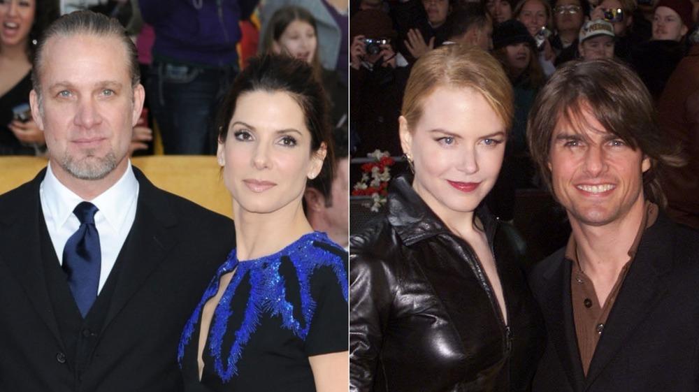 Jesse James and Sandra Bullock as well as Nicole Kidman and Tom Cruise