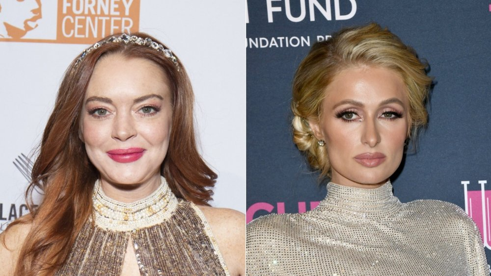 Lindsay Lohan, Paris Hilton