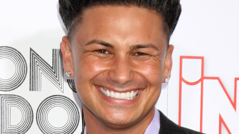 Pauly D smiling
