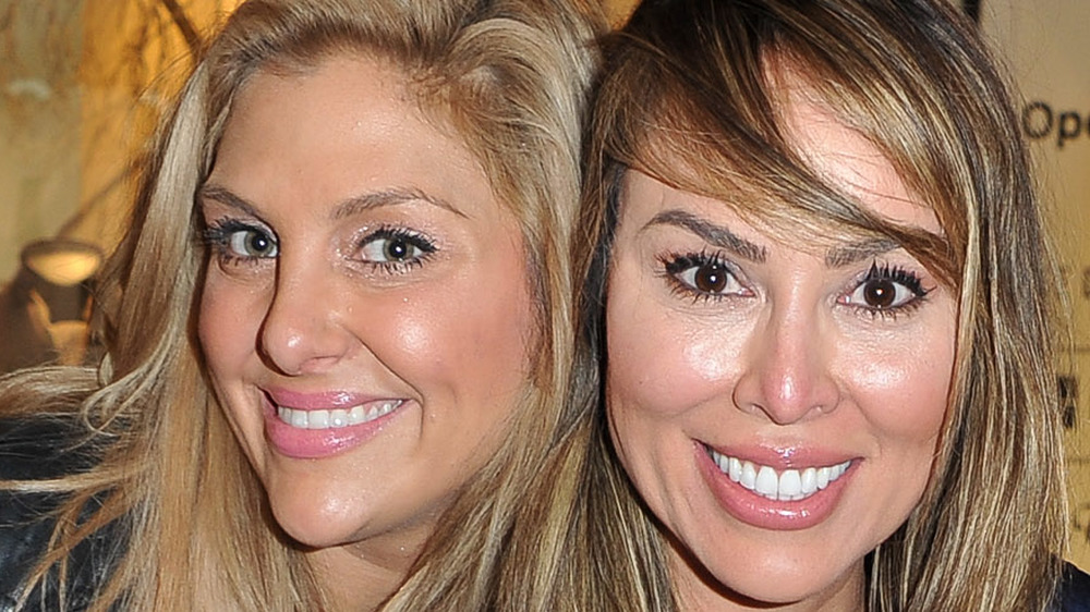 Gina Kirschenheiter and Kelly Dodd smiling