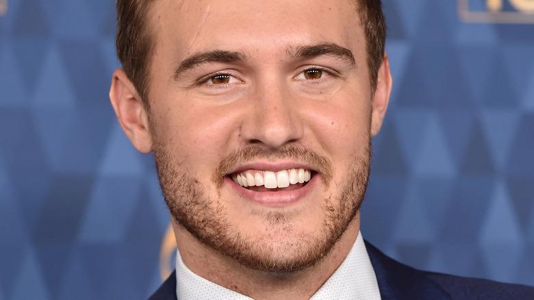 Peter Weber smiling
