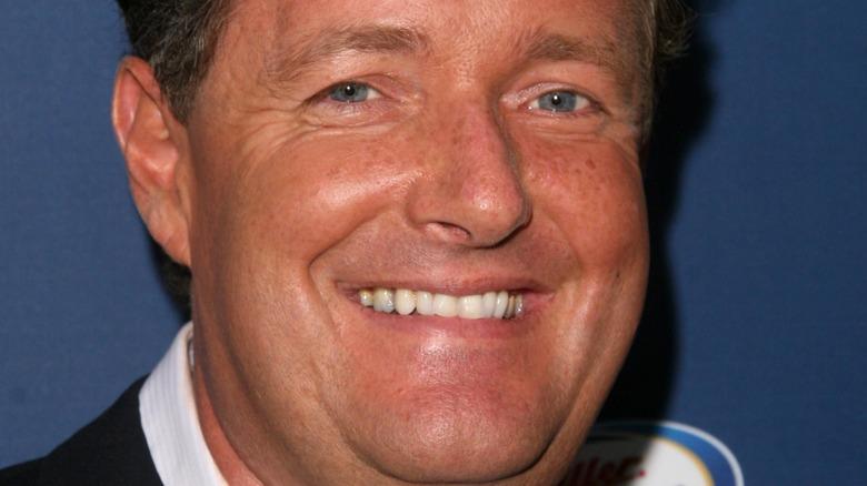 Piers Morgan blue eyes