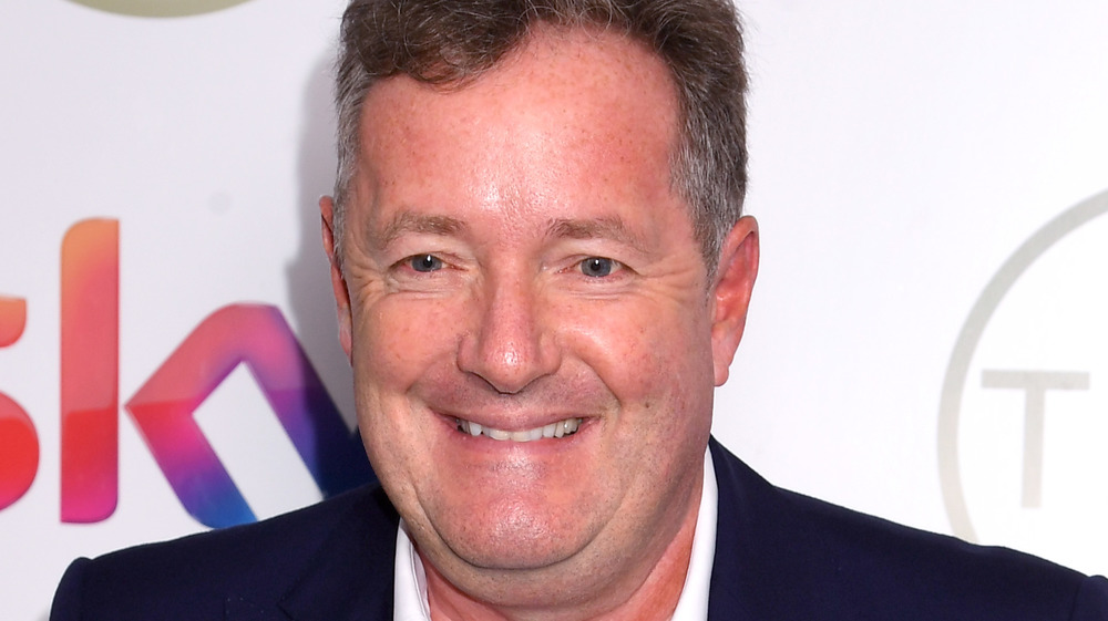 Piers Morgan red carpet event