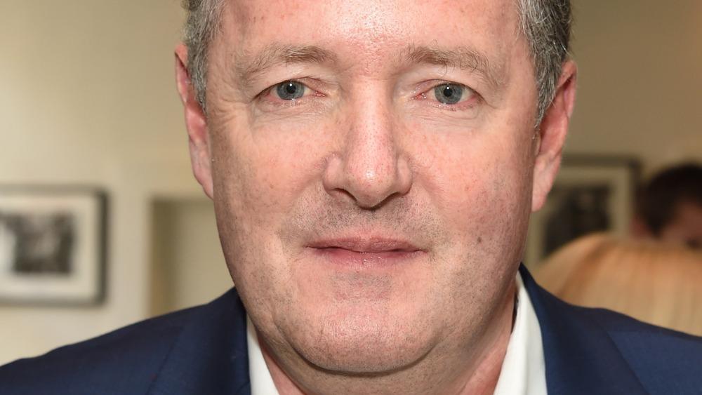 Piers Morgan staring