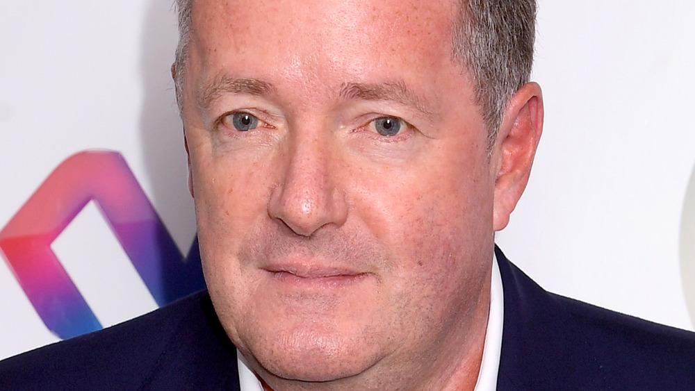 Piers Morgan smirk