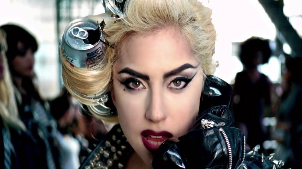 "Lady Gaga in ""Telephone"" music video"