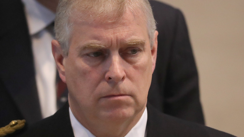Prince Andrew in 2016