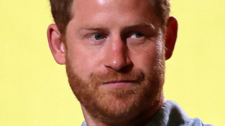 Prince Harry side eye