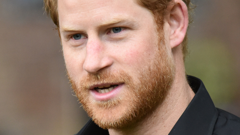 Prince Harry at the launch of UK's team for the Invictus Games in 2017