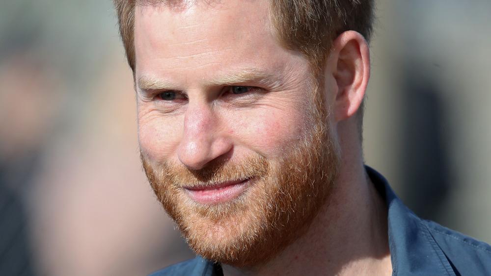 Prince Harry, posing