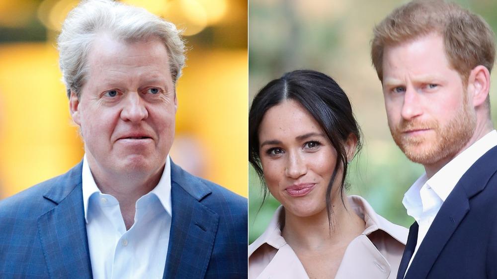 Charles Spencer, Meghan Markle, Prince Harry