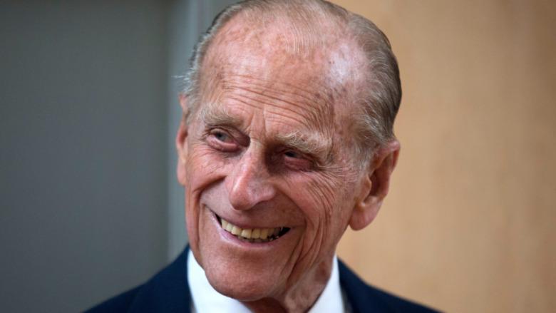 Prince Philip in profile