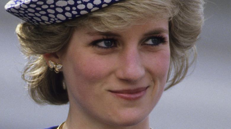 Princess Diana laughing in 1988