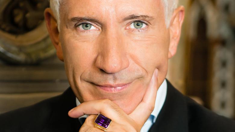 Stewart Pearce large purple ring
