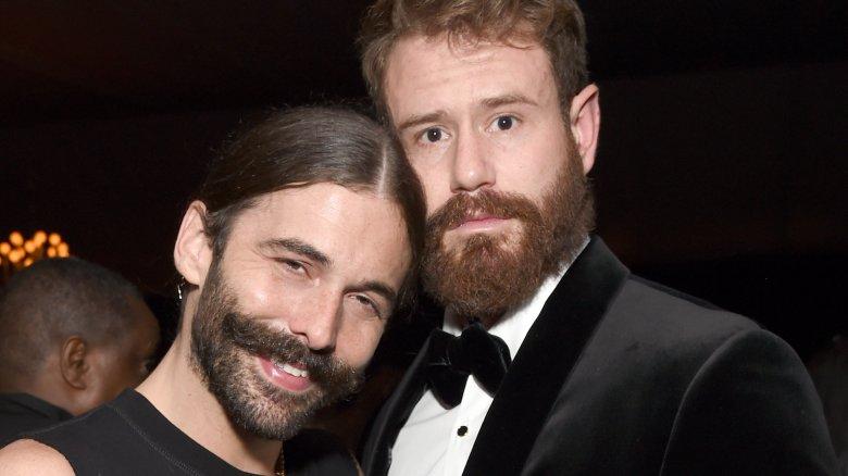 Queer Eye star Jonathan Van Ness and Wilco Froneman