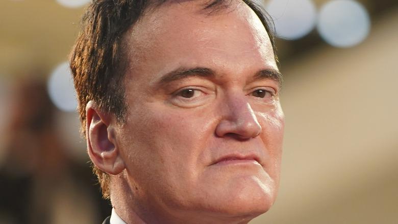 Quentin Tarantino close-up
