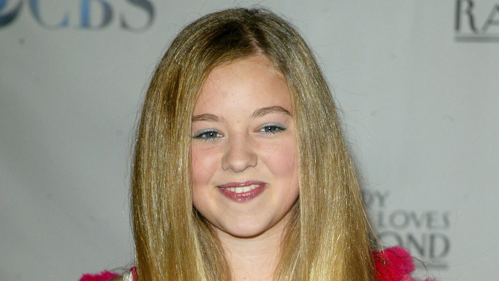 Madylin Sweeten on the red carpet as a kid