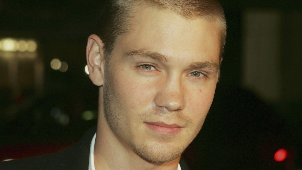 Chad Michael Murray at a premiere