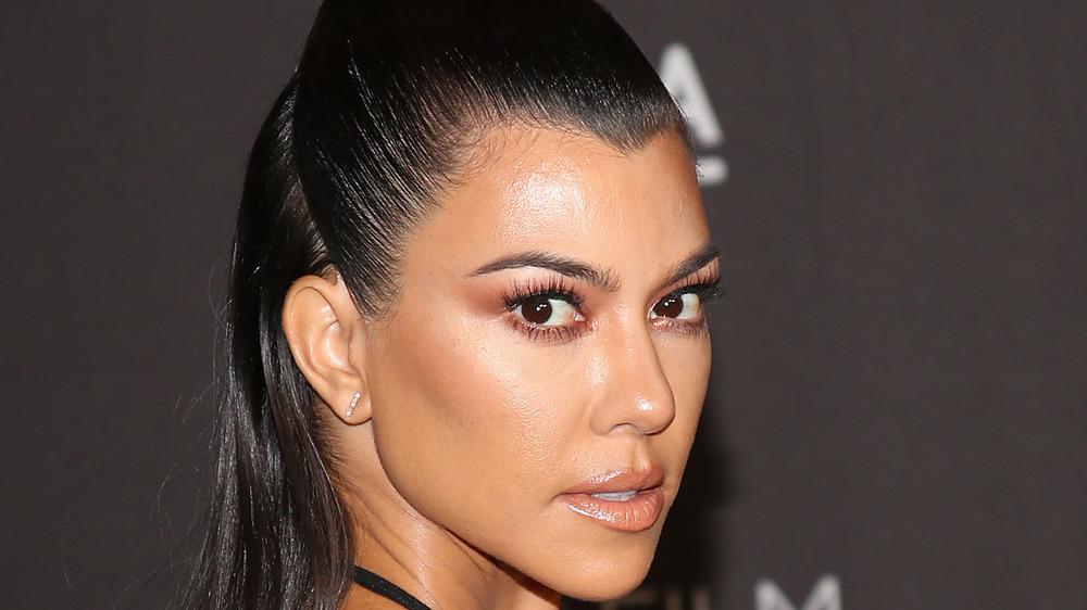 Kourtney Kardashian at a LACMA event in 2018