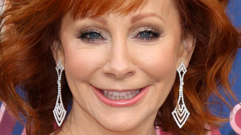 Reba McEntire smiling