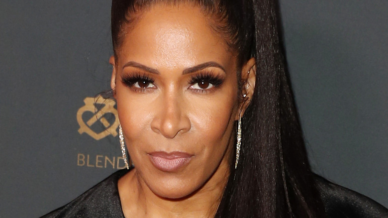 Sheree Whitfield posing on the red carpet