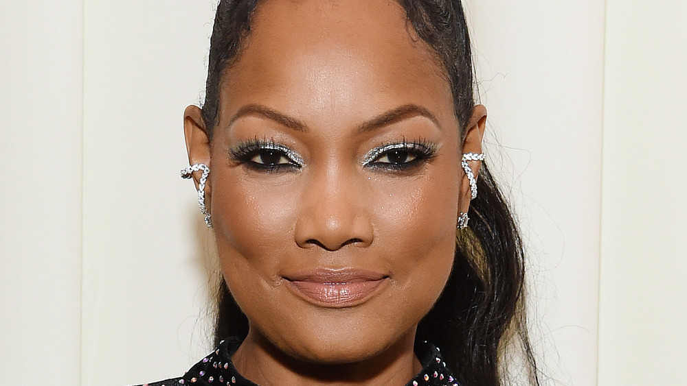 Garcelle Beauvais on a red carpet