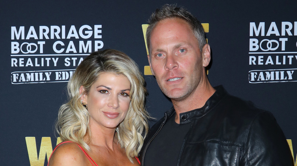 Alexis Bellino and Andy Bohn on the red carpet