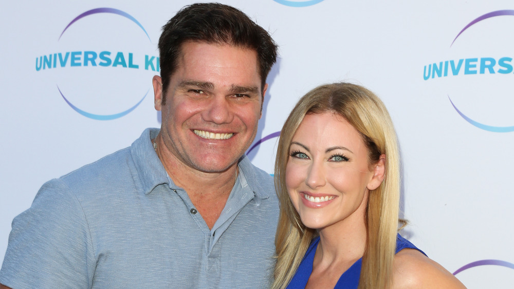 RHOD's Travis and Stephanie Hollman posing on the red carpet