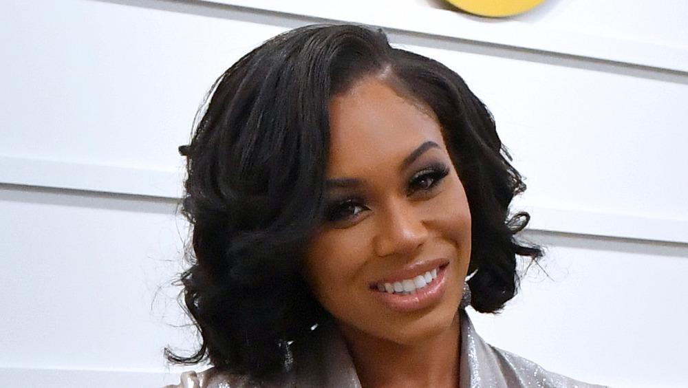 Monique Samuels smiling