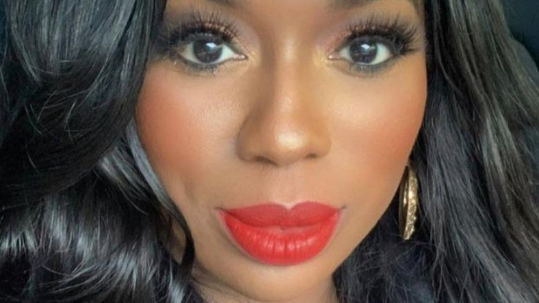 Wendy Osefo taking a selfie