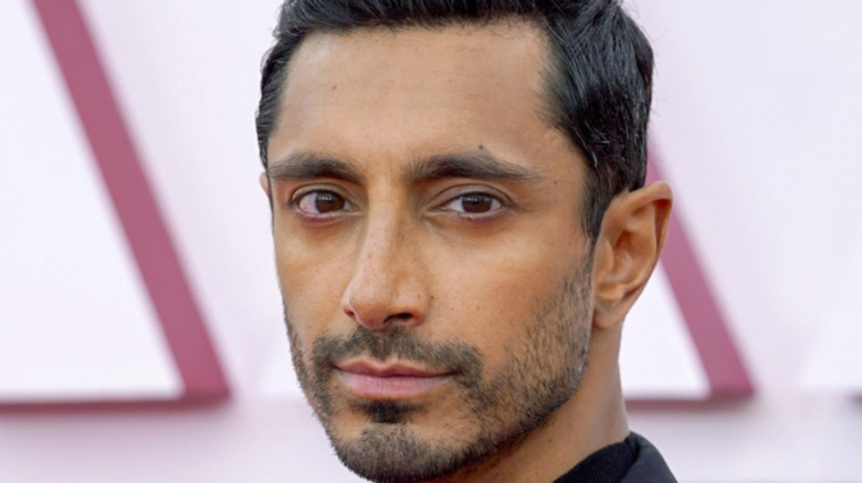 Riz Ahmed attends the 93rd Annual Academy Awards at Union Station on April 25, 2021