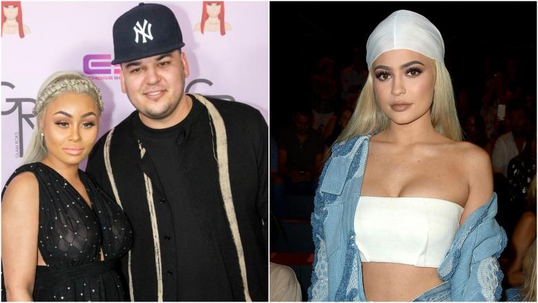 Blac Chyna and Rob Kardashian, Kylie Jenner