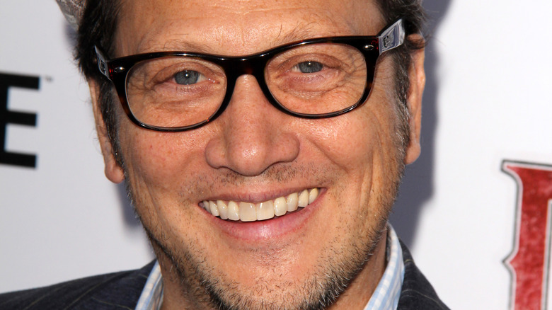 Rob Schneider glasses on red carpet