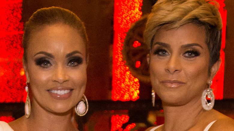"""Gizelle Bryant and Robyn Dixon attend """"Real Housewives Of Potomac"""" Premiere Party"""