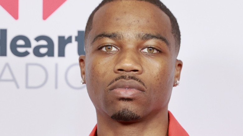 Roddy Ricch attends the 2021 iHeartRadio Music Awards