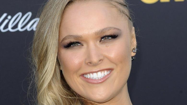 Ronda Rousey smiling