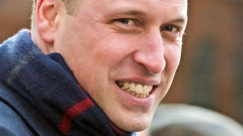 Prince William teeth