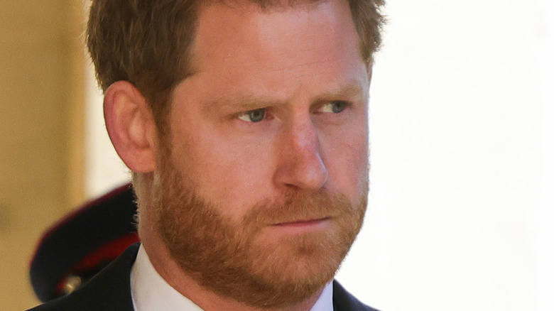 Prince Harry in 2021