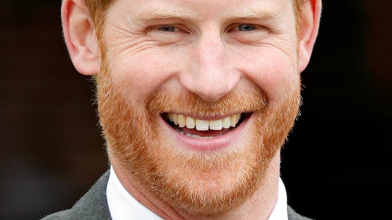 Prince Harry red beard
