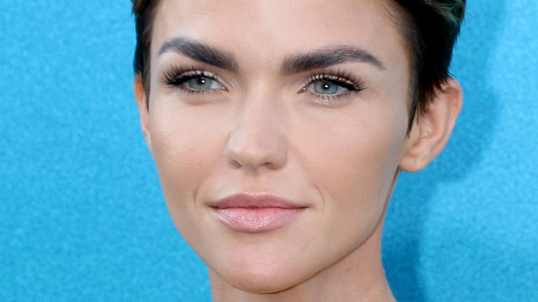 Ruby Rose on the red carpet
