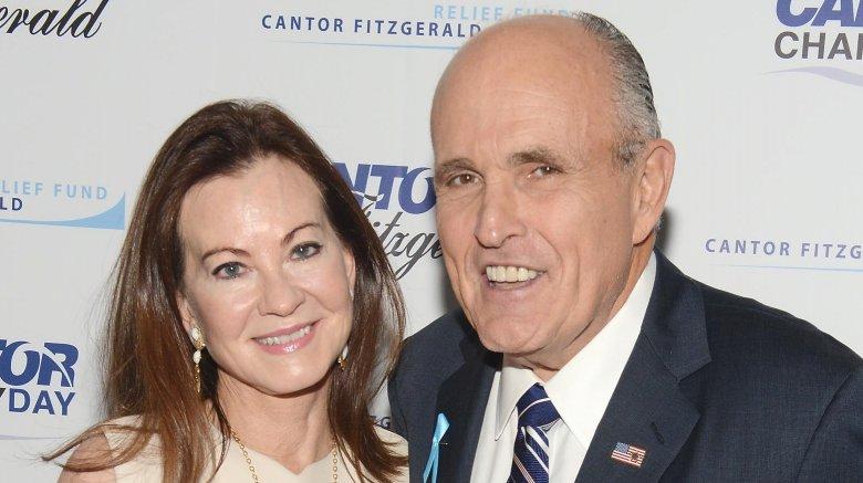 Rudy Giuliani and Judith Giuliani