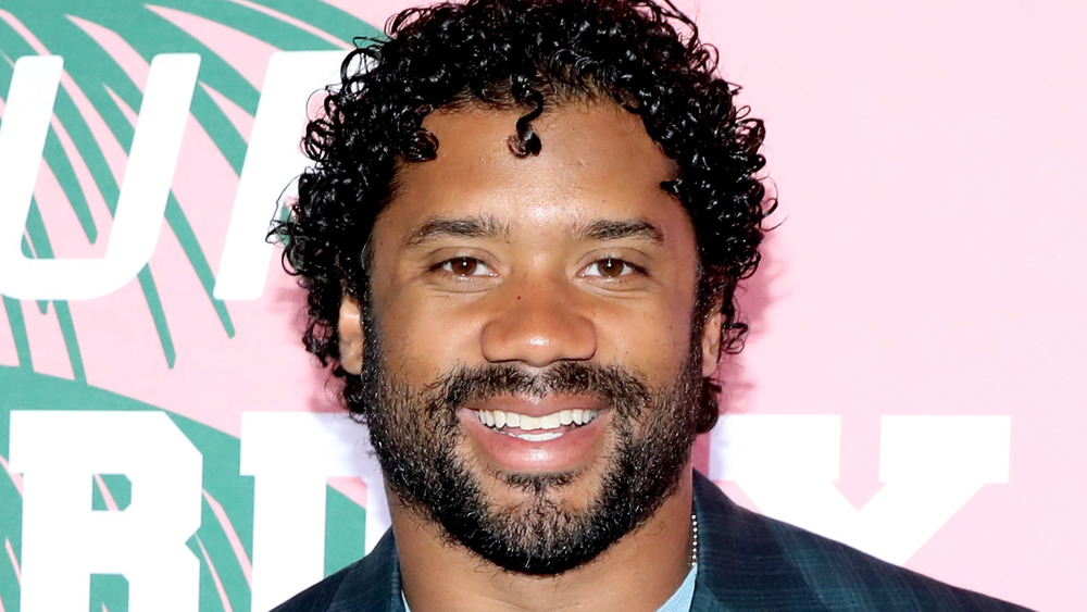 Russell Wilson on the red carpet
