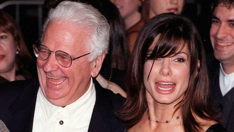 Sandra Bullock and father John Bullock